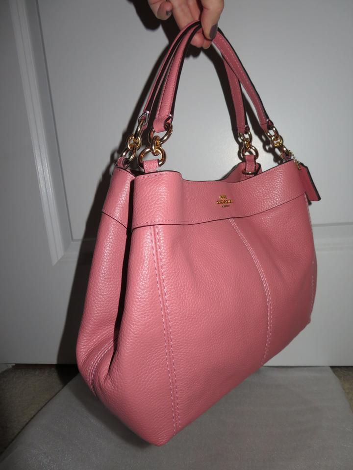 9137e3a01ee0 Coach Lexy Small Vintage Pink Leather Shoulder Bag - Tradesy