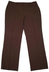 Talbots Heritage Classic Straight Pants Brown