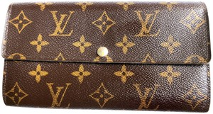 Louis Vuitton LOUIS VUITTON MONOGRAM SARAH WALLET WITH 10 CARD SLOTS