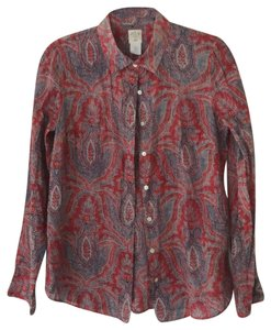 acfbd6b367f8b9 Red J.Crew Blouses - Up to 70% off a Tradesy