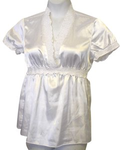Allison Taylor Silky Top WHITE
