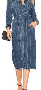 denim Maxi Dress by 7 For All Mankind