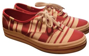 Kate Spade red and white stripe Athletic