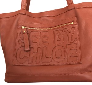See by Chloé Tote in brick - salmon