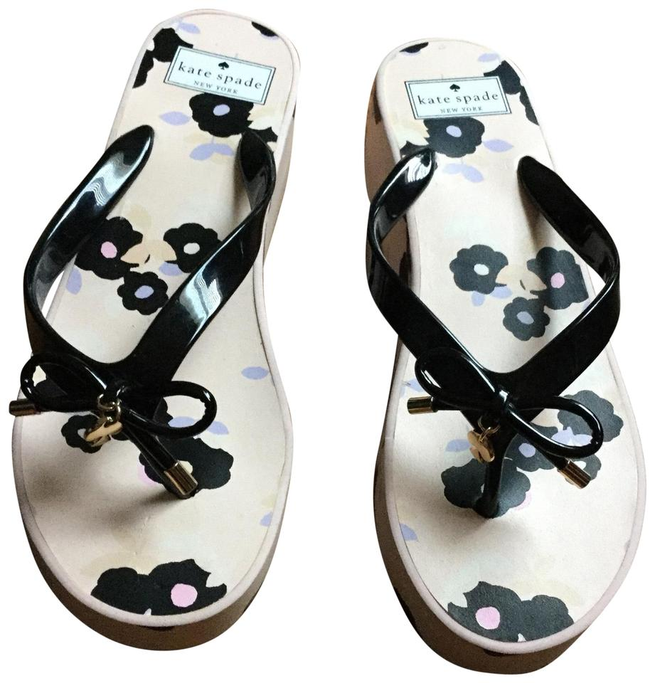 5c1de95b9636 Kate Spade Multicolor New York Platform Flip Flops Sandals. Size  US 9 ...