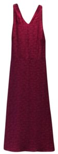 bright pink magenta Maxi Dress by Banana Republic