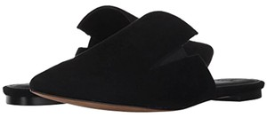 Marc Fisher Suede Black Mules