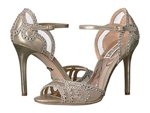 Badgley Mischka Platinum Tansy Sandals Size US 7 Regular (M, B)