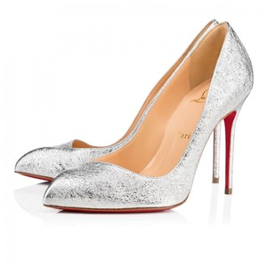 db84269c75ba Christian Louboutin Pigalle Stiletto Classic Corneille Leather silver Pumps  - item med img