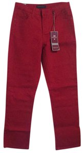 Lee Straight Pants Red