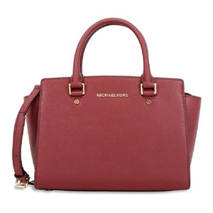 1f221744bc8094 Red Michael Kors Satchels - Up to 90% off at Tradesy