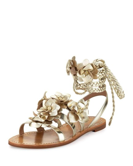 Tory Burch gold Sandals Image 3