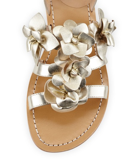 Tory Burch gold Sandals Image 9