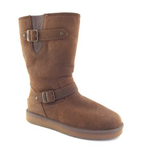 UGG Australia New Buckled Sutter Toast Brown Boots