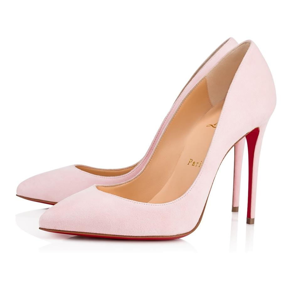 Christian Louboutin Pigalle Stiletto Follies Classic Patent pink Pumps ... 61f77300a