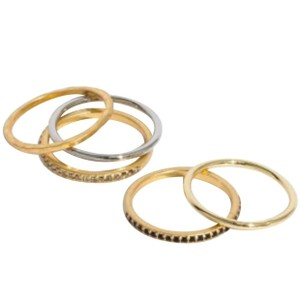Madewell Madewell filament stacking ring size 8