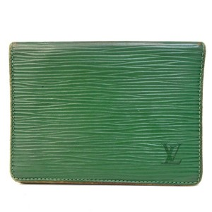 Louis Vuitton Louis Vuitton pass card Epi leather Wallet