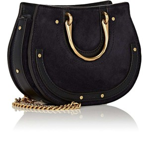 Chloé Pixie Navy Belt Convertible Cross Body Bag