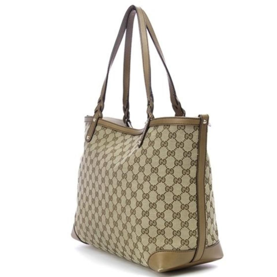 283e8baa0ced Gucci Bag Beige/Ebony Signature