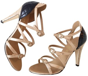 1c39833e2e2dce Beige Chanel Sandals - Up to 90% off at Tradesy