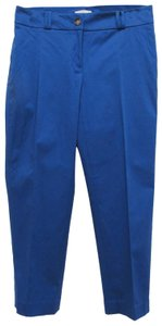 Ann Taylor LOFT Capris Royal Blue