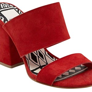 Dolce Vita Red Mules