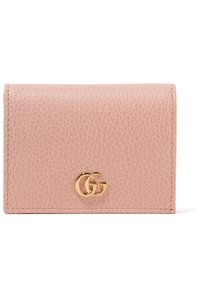 Gucci NEW Gucci Marmont Calfskin Texture Leather Card Case Bifold Wallet