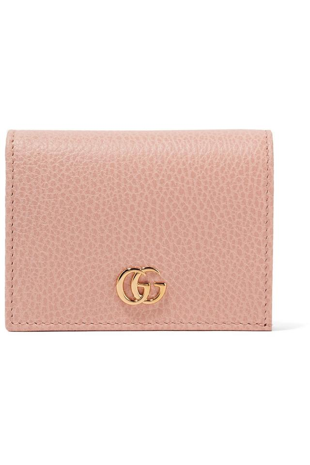 bf29bbc5b4e2 Gucci NEW Gucci Marmont Calfskin Texture Leather Card Case Bifold Wallet  Image 0 ...