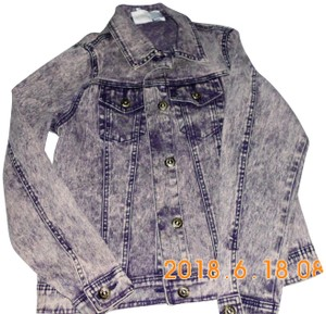 Diane Gilman blue Womens Jean Jacket