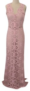 pink Maxi Dress by Miguelina