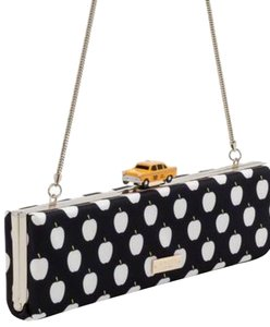 Kate Spade Taxi Taxi Taxi Purse Black/White Clutch