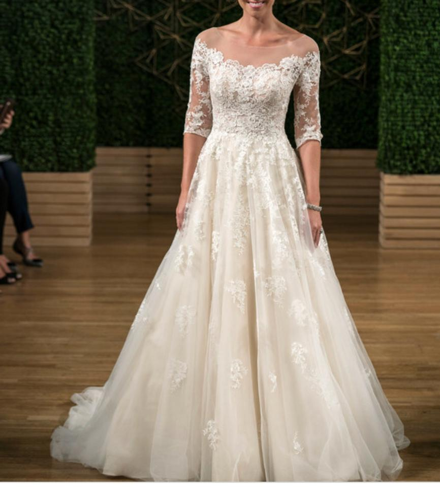 Maggie Sottero Lace Wedding Gown: Maggie Sottero Ivory Lace And Tulle Bree Formal Wedding
