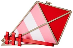 Kate Spade Purse Red/Pink/white Clutch