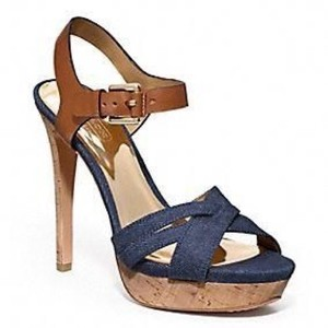 Coach blue Pumps
