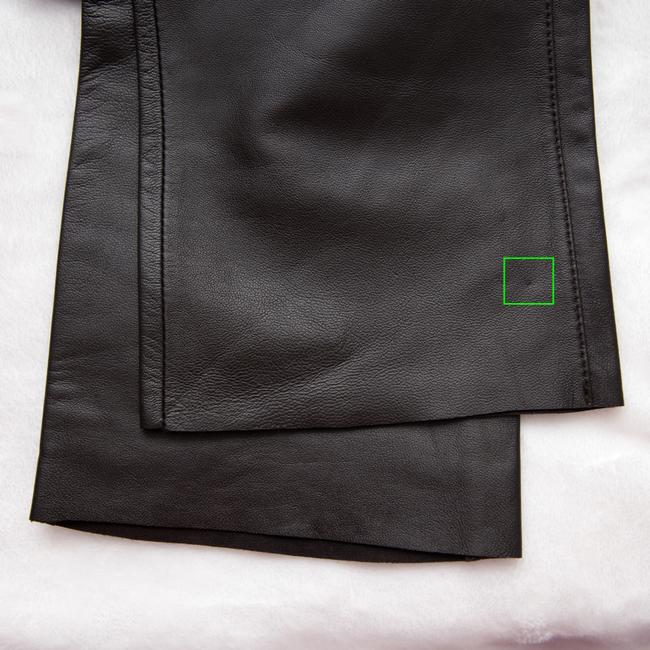 Paige Leather Hyde Lined Skinny Pants brown Image 8