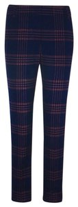 Tory Burch Trouser Pants navy and pink