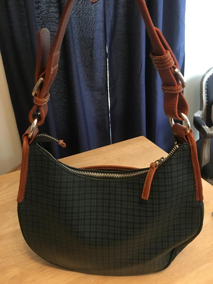 Ralph Lauren Checkered with Straps Green Leather Shoulder Bag - Tradesy 9179ed77b63ea