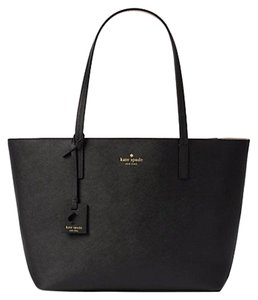 Kate Spade Wkru4664 Lida Scotts Tote in Black/Almondine