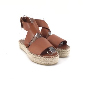 7464d1c5115 Bettye Muller Brown Seven Espadrille Platform Sandals Size US 6 Regular (M,  B) 56% off retail