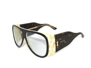 49a1cf7ce28de Gucci Gucci GG0149S 002 Oversized Ivory Horn Tortoise Sunglasses
