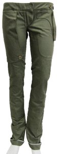 Dior Army Reverse Boutique Logo Skinny Pants green