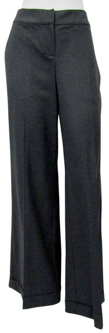 Item - Grey New Knits Small Granite Wool Blend Stretch Pants Size 4 (S, 27)