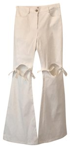 Rosie Assoulin Flare Pants white