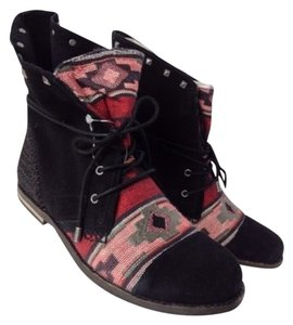 The Sak Black/ Tribal Textile Boots
