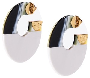 Tory Burch New Tory Burch BLOCK HOOP EARRING