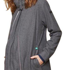 Modern Eternity XL Modern Eternity 3 In 1 Wool Blend Maternity Coat