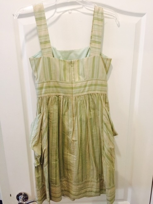 London Times short dress golden with mix shades of green Summer Chic Cute Nightout on Tradesy