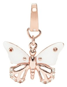 Fossil Fossil Brand Rivershell Butterfly Charm Rose Gold JF00763