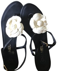 7d2db641 Chanel Camellia Sandals - Up to 70% off at Tradesy