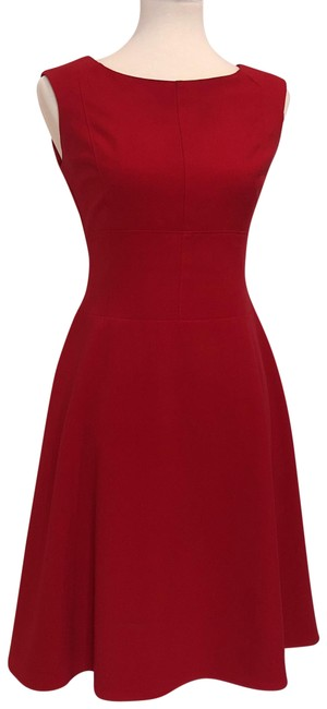 Preload https://img-static.tradesy.com/item/23539767/andrew-marc-red-cap-sleeve-fit-and-flare-structured-a-line-46-short-workoffice-dress-size-4-s-0-3-650-650.jpg